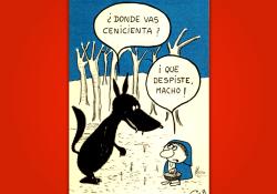 Miguel Gila - Chistes Gráficos - El lobo y caperucita