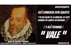 Miguel de Cervantes - Don Quijote - Miguel Gila - VALE