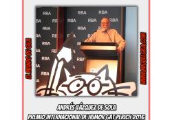 Andrés Vázquez de Sola - Premio Gat Perich 2016