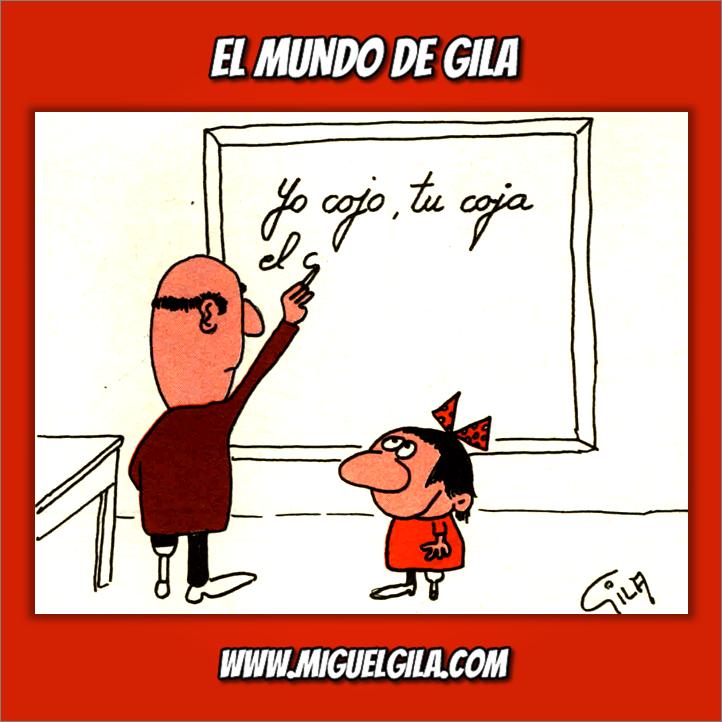 Miguel Gila - Posguerra - Invalido