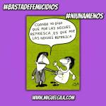 #BastaDeFemicidios #NiUnaMenos hoy 3 de junio marcha en las calles de Argentina y Uruguay