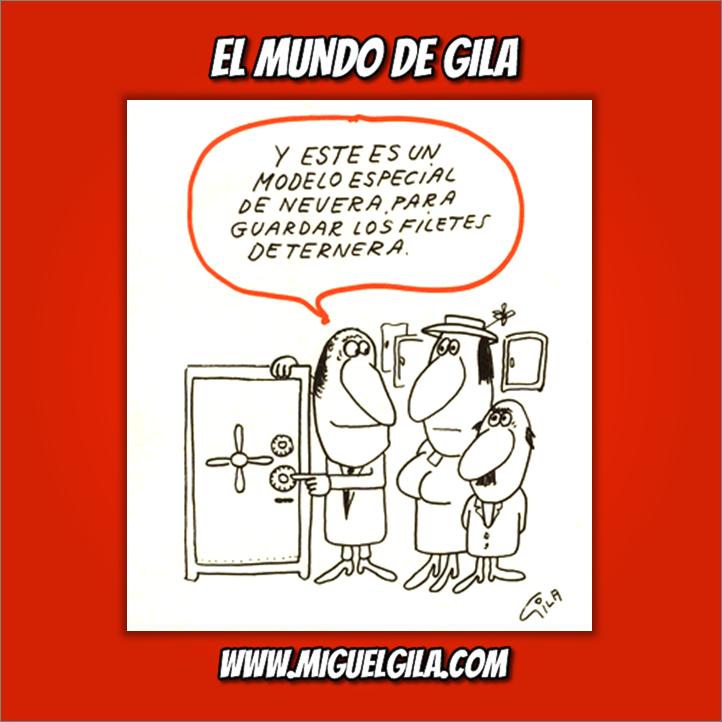 Miguel Gila - Viñeta