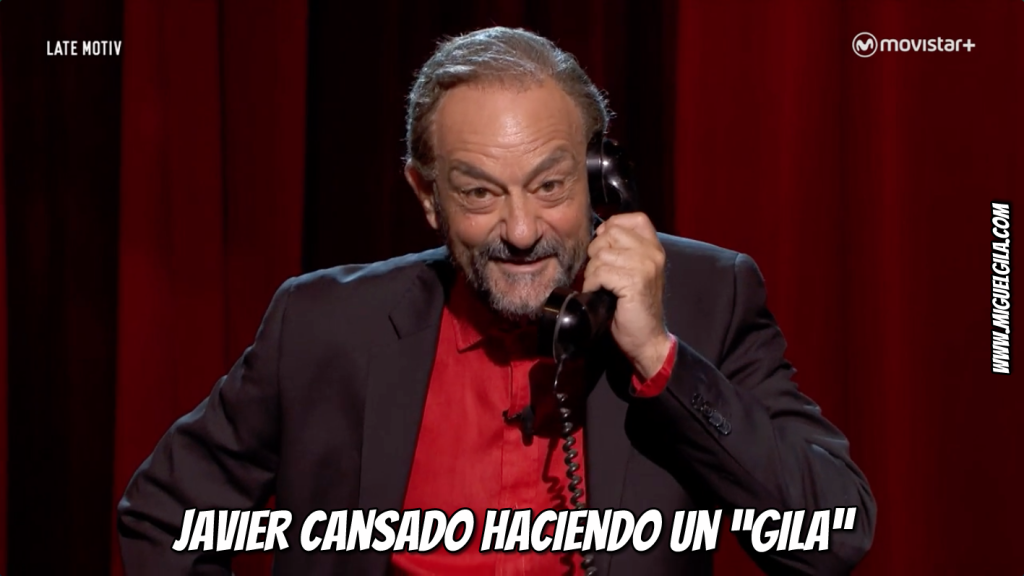 Javier Cansado es Miguel Gila