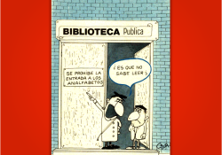 Miguel Gila - Chistes gráficos - Analfabetos