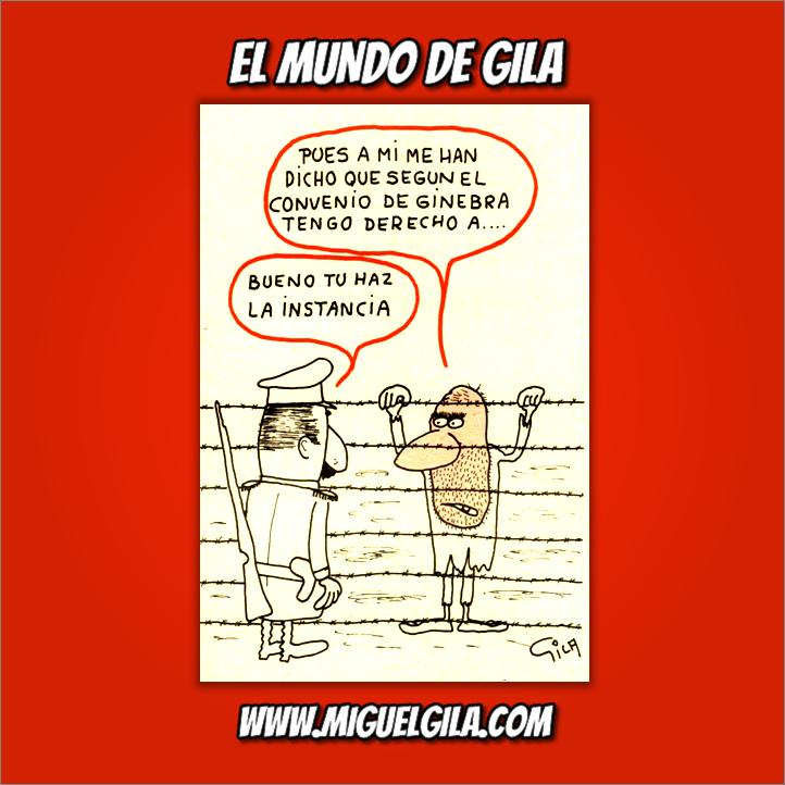 Miguel Gila - Convenio de Ginebra - Acuerdo de Ginebra