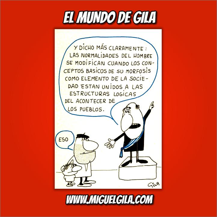 Miguel Gila - Chiste político - La versión de Gila del tuit de Íñigo Errejón