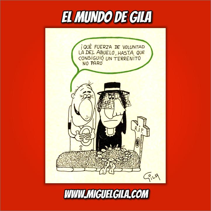 Miguel Gila - Perseverancia -Humor Negro