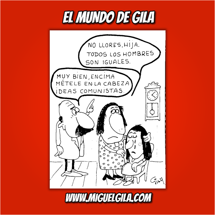 Miguel Gila - Chistes gráficos - Comunista
