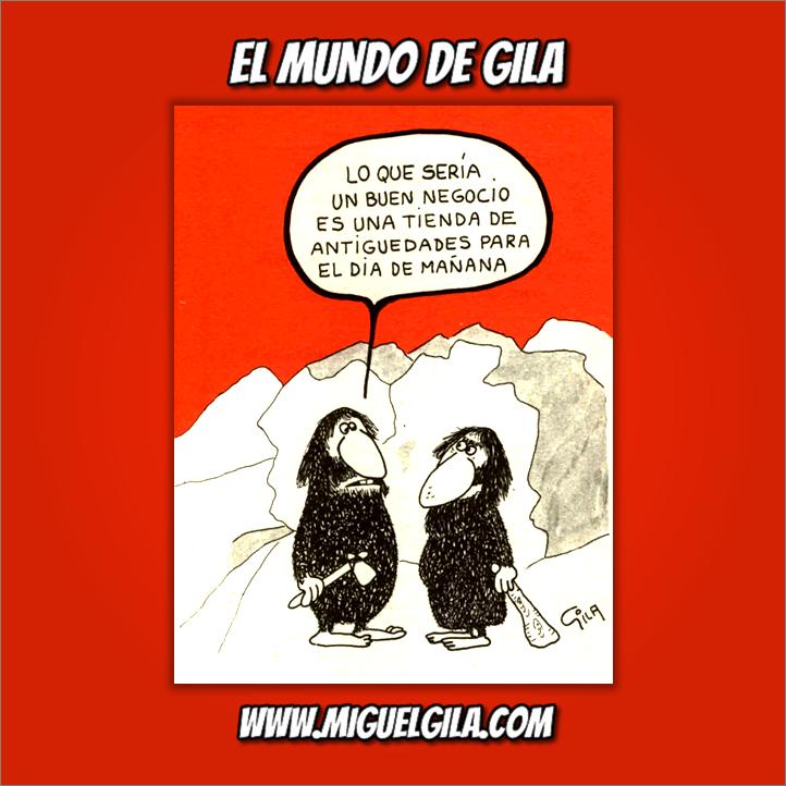 Miguel Gila - Chistes gráficos - Emprendedores