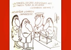 Miguel Gila - Chistes gráficos - Los nuevos ladrones
