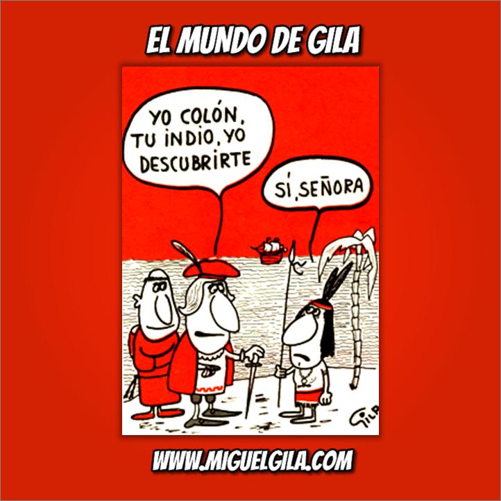 Miguel Gila - Chistes Gráficos - Colón