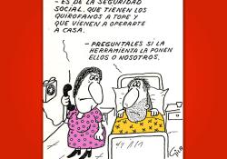 Miguel Gila - Chistes Gráficos - Seguridad Social - Sanidad Pública