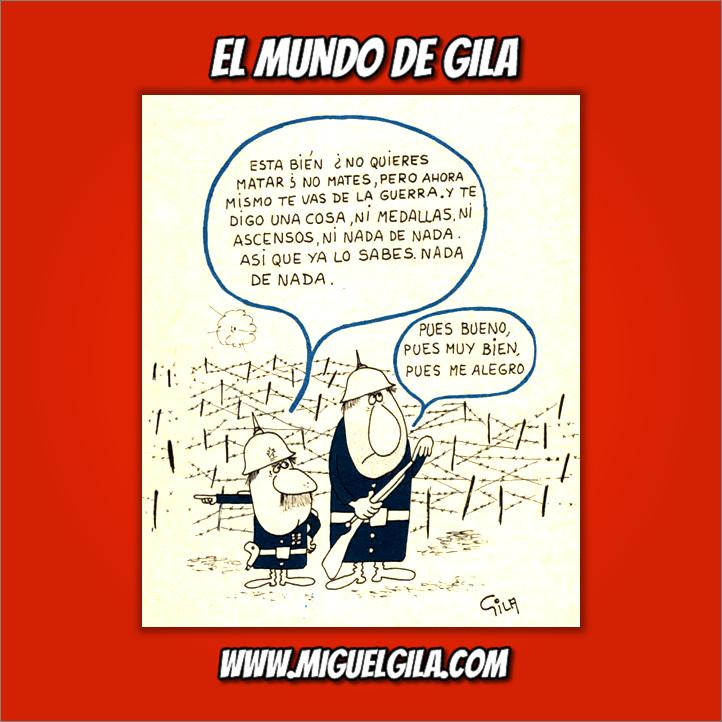 Miguel Gila - Semana del Desarme