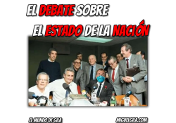 El Debate sobre el Estado de la Nación - Programa Protagonistas