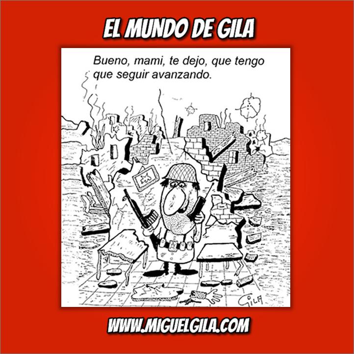 Miguel Gila - Chistes gráficos - Semana del Desarme