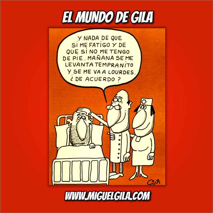 Miguel Gila Chistes Gráficos - Sanidad Pública