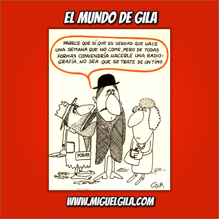 Miguel Gila - Chistes gráficos - Pobres