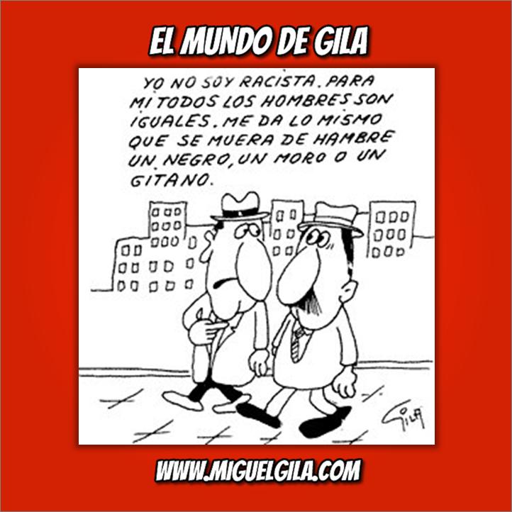 Miguel Gila - Chistes gráficos - Racismo