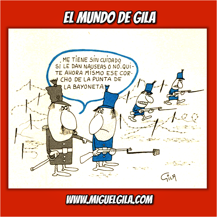 Miguel Gila - Chiste gráficos - Semana del Desarme