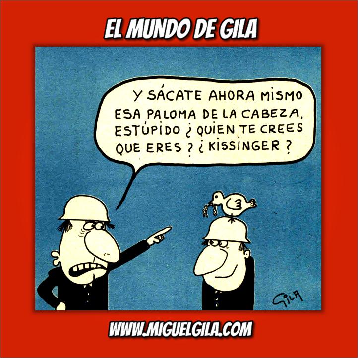 Miguel Gila - Semana del Desarme - Paz - Kissinger