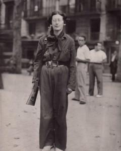 Simone Weil - Brigadas Internacionales  - Guerra Civil Española