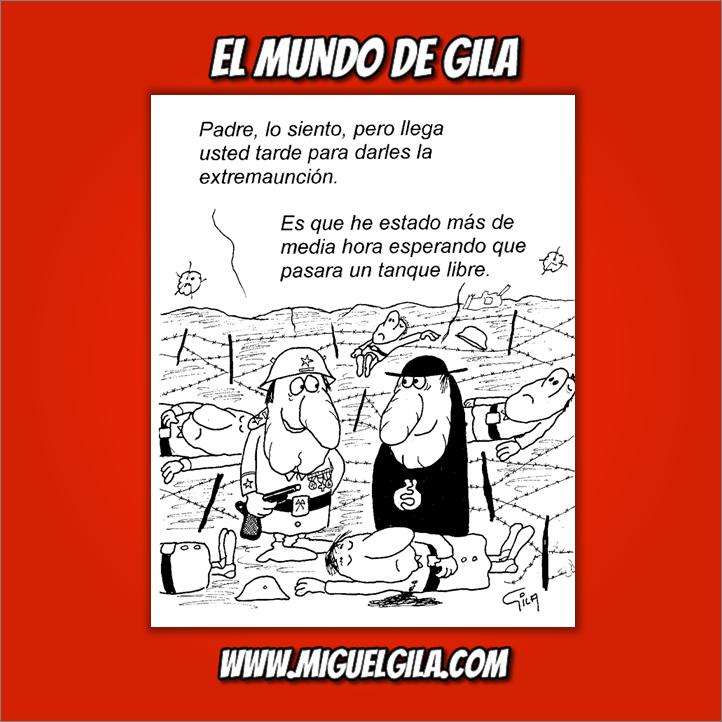 Miguel Gila - Chistes gráficos - Chistes de guerra