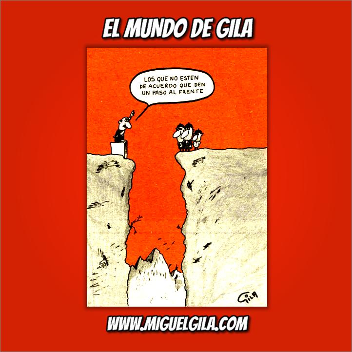 Miguel Gila - Chistes gráficos - Discursos