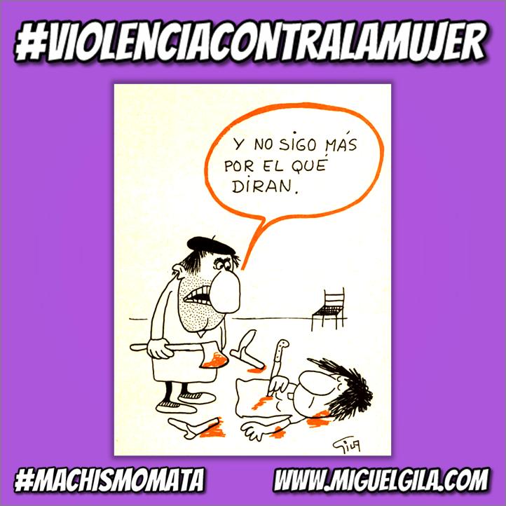 Miguel Gila - Violencia contra la mujer