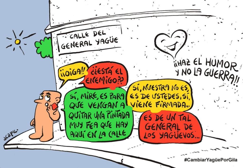 Miguel Gila - Calle Humor de Gila - ACAPU