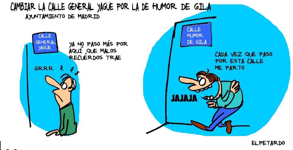 Mibuel Gila - El Petardo - Calle Humor de Gila