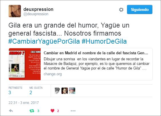 Apoyo Calle humor de Gila - Deuxpression - Davite