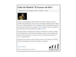 """Desde Chile nos llega el apoyo de la Fundación """"Humor Sapiens"""""""