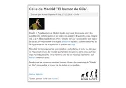 Fundación Humor Sapiens - Calle Humor de Gila