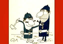 Miguel gila - Chistes gráficos - Medallas - Humor antibelicista