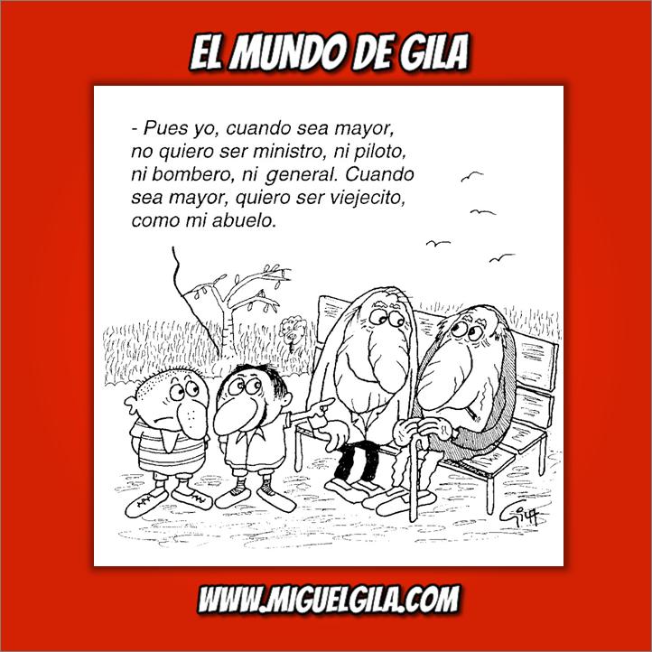 Miguel Gila - Chistes gráficos - Abuelitos