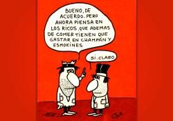 Miguel Gila - Chistes gráficos - Ricos y pobres