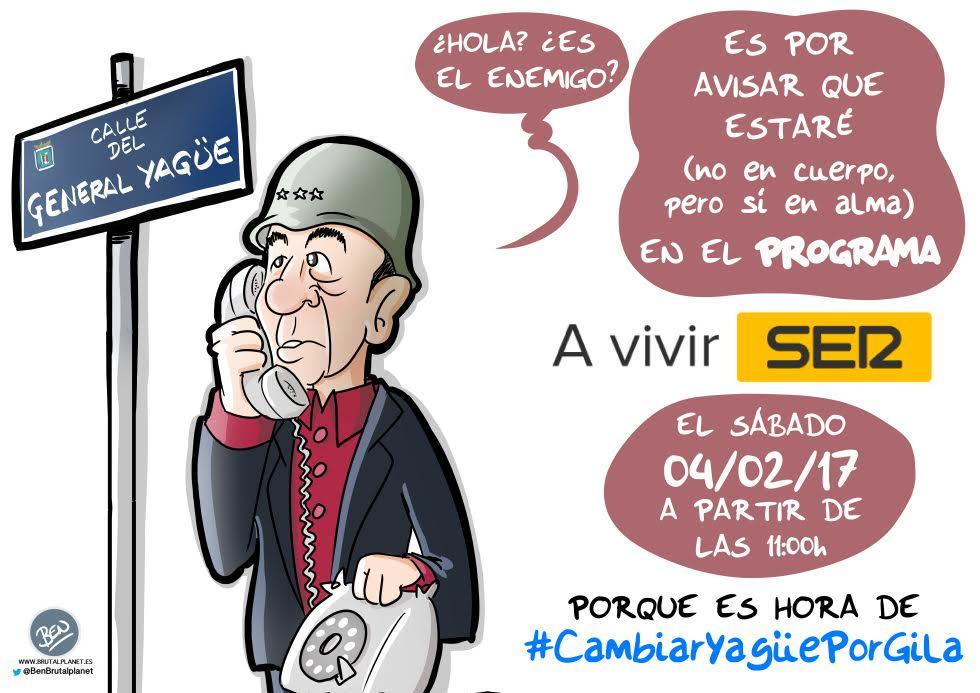 "La Calle ""Humor de Gila"" en la SER"