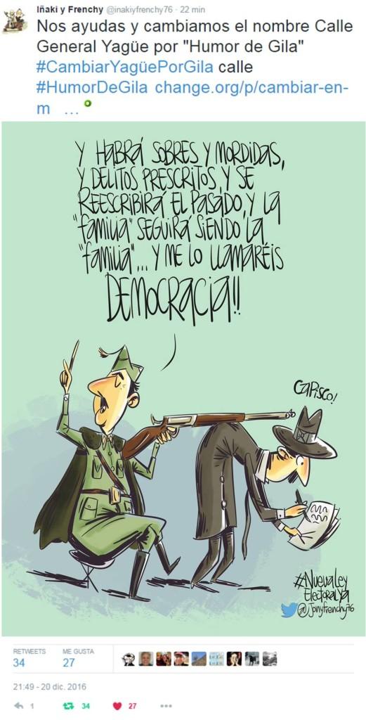 Calle Humor de Gila - Iñaki y Frenchy
