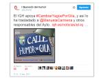 El Instituto Quevedo de las Artes del Humor apoya el cambio de General Yagüe por Humor de Gila en Madrid