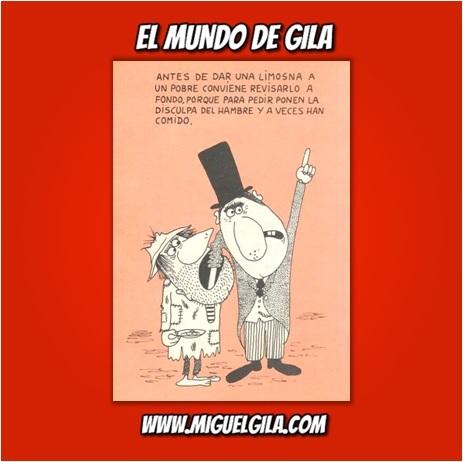 Viñeta de Miguel Gila