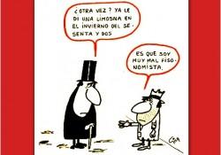 Viñeta de Miguel Gila - Es que soy muy mal fisonomista Viñeta de #Miguelgila