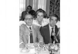 Miguel Gila con Rocío Jurado y Chumy Chúmez