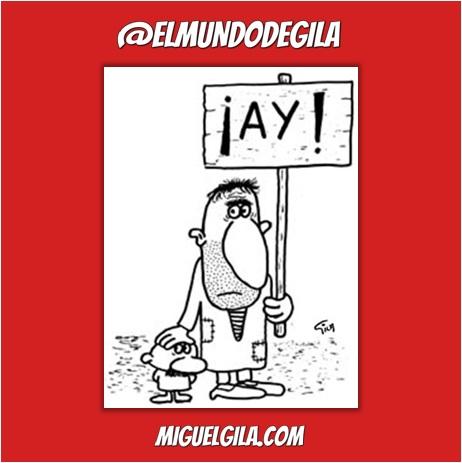Viñeta de Miguel Gila - Libro de Quejas de Gila