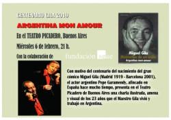 Centenario Miguel Gila - ARGENTINA mon amour