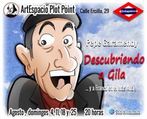 """Un homenaje del cómico hispanoargentino Pepe Garamendy a Miguel Gila: """"Descubriendo a Gila"""""""