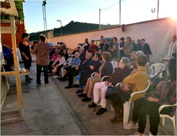 Mesa redonda en Buñol - Centenario Miguel Gila en el Barrio Gila
