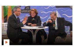"""Carmen Sevilla y Miguel Gila en el programa """"Cosas que importan"""""""